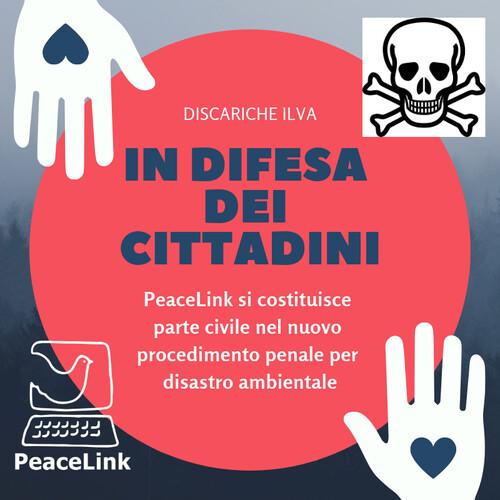 Nuovo procedimento penale per ILVA. PeaceLink si costituisce parte civile