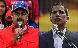Maduro e Guaidò