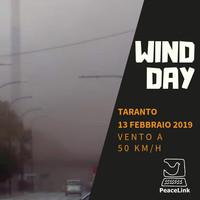 Su Taranto Wind Day fortissimo