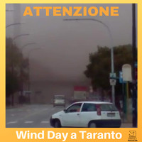 Wind Day, vento dall'ILVA sul quartiere Tamburi, foto scattata in data 13/2/2019