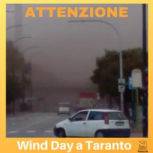 Wind Day, vento dall'ILVA sul quartiere Tamburi, foto scattata in data 13/2/2019