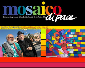 Mosaico di Pace, Rivista diretta da padre Alex Zanotelli e fondata da Don Tonino Bello