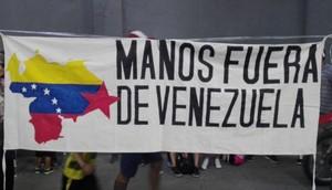 Giú le mani dal Venezuela (Foto MFV Internacional)
