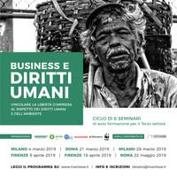 Business e diritti umani: 6 seminari per il terzo settore