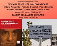 Il messaggio antinucleare di Giovanni Pesce alla Camera del Lavoro di Milano