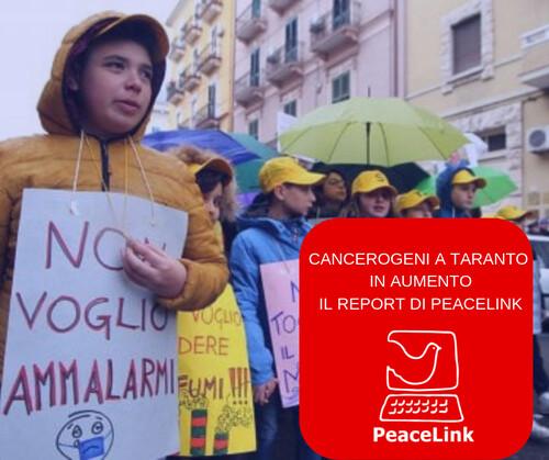 Carcerogeni in aumento a Taranto