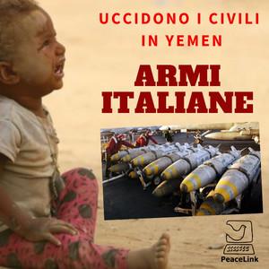 Armi italiane uccidono civili in Yemen