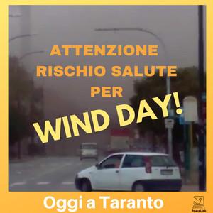 Wind day, rischi per la salute