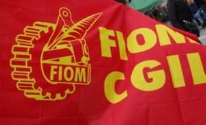 Bandiera della FIOM-CGIL