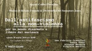 Nuova Edizione LA FOLLIA DEL NUCLEARE a Milano, Spazio Colibrì - con prefazione di Alex Zanotelli