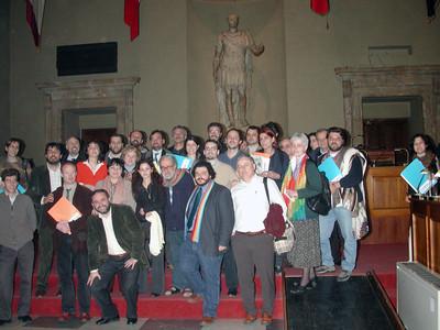 Foto Promotori RID Aula Giulio Cesare 19 marzo 2004