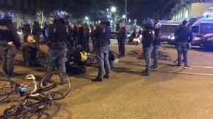 Critical mass attaccata a Torino