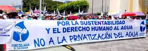 diritto all'acqua El Salvador