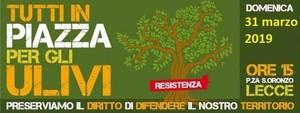 Assemblea a piazza Sant'Oronzo a Lecce del 31 marzo 2019