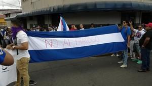 Il messaggio chiaro dell'opposizione (Foto G. Trucchi | LINyM)