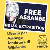 Libertà per Julian Assange, fondatore di Wikileaks