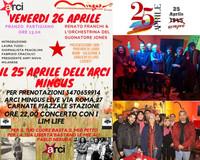 Giorno della Liberazione - il 25 Aprile dell'ARCI Mingus Live
