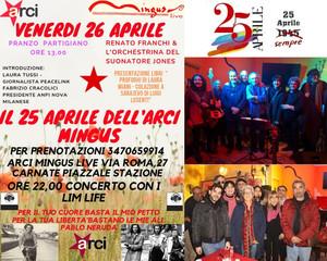 26 Aprile 2019 all'ARCI Mingus Live