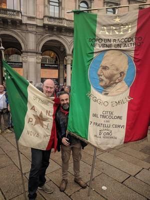 ANPI NOva Milanese con ANPI Reggio Emilia - Fratelli Cervi