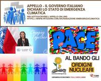 Il governo italiano dichiari lo stato di emergenza climatica