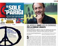 Il Sole di Parigi - Intervista: dialoghi con Mimmo Lucano
