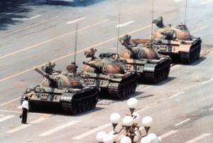 Piazza Tienanmen (Cina), un momento della storia del Novecento