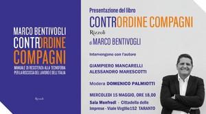 Dibattito a Taranto sul libro di Marco Bentivogli