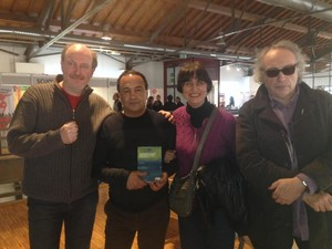 Con Mimmo Lucano, Fabrizio Cracolici, Renato Franchi e Laura Tussi