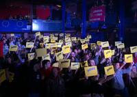Hope Fest: grande partecipazione in tutta Europa. A Genova in 1000 al concerto per l'Europa unita.