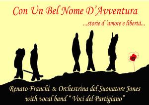 """Disco di Renato Franchi & Orchestrina del Suonatore Jones e della Vocal Band """"Voci del Partigiano"""""""