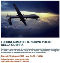 A Roma una Conferenza internazionale per indagare l'impatto dei droni sulla guerra moderna