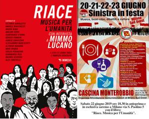 """Libro """"RIACE, MUSICA per L'UMANITA'"""" in anteprima e in esclusiva a MILANO"""