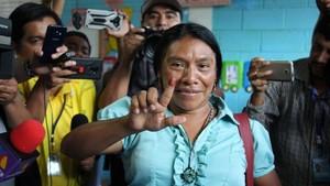 Thelma Cabrera denuncia frode elettorale