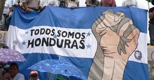 Manifestazione contro il colpo di stato 2009 (Foto G. Trucchi | Rel-UITA)