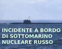 """Fuoco a bordo del sottomarino nucleare segreto russo """"Losharik"""""""