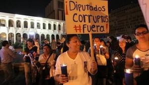 Protesta contro la corruzione (Foto Gazeta.gt)