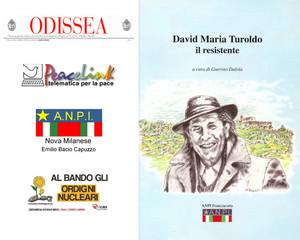 """Recensione al Libro """"David Maria Turoldo, il Resistente"""". Cover di Giuseppe Torcoli"""
