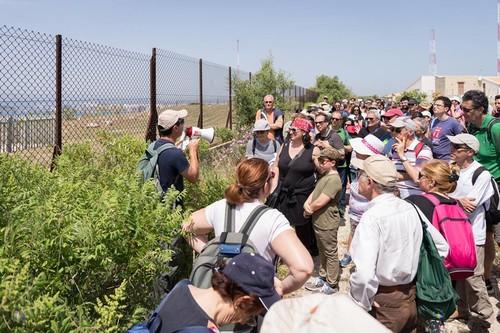 Manifestazione per la smilitarizzazione di Punta Izzo, ad Augusta (SR)