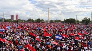 Plaza de la Fe , Managua (Foto G. Trucchi | LINyM)