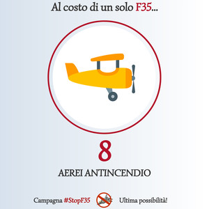 Stop F35 - alternative aerei antincendio