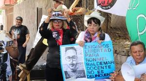 Manifestazione per la liberazione dei detenuti politici (Foto G. Trucchi | Rel-UITA)