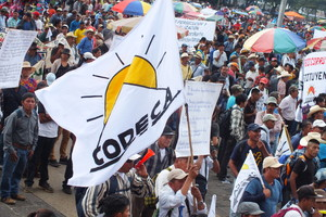 Manifestazione Codeca (Foto Codeca)