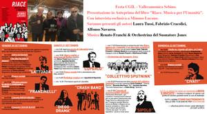 """Festa CGIL VALLECAMONICA SEBINO: Presentazione Libro """"Riace, Musica per l'Umanità"""", Mimesis Edizioni"""