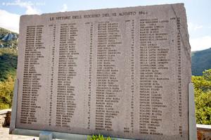 Le vittime della strage di Sant'Anna di Stazzema