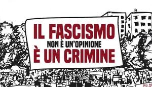 Il fascismo è un crimine