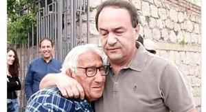Mimmo Lucano e suo padre
