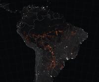 La foresta pluviale del Brasile è in fiamme