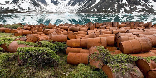 La base aeronautica abbandonata in Groenlandia