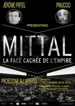 Locandina evento film documentario su Mittal