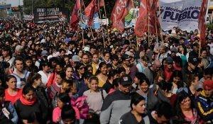 proteste in Argentina